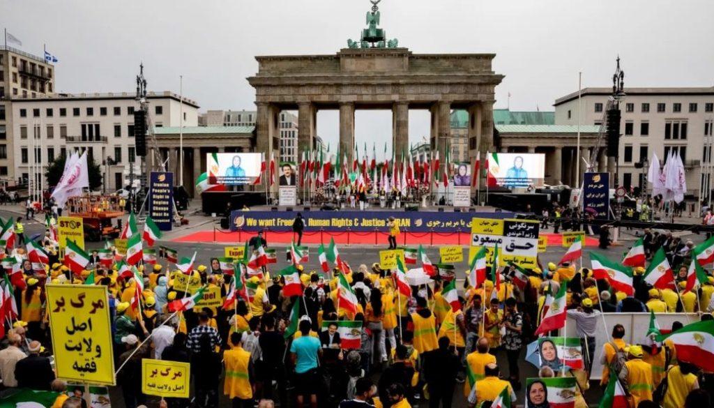 Berlin Protest July 6_Free Iran