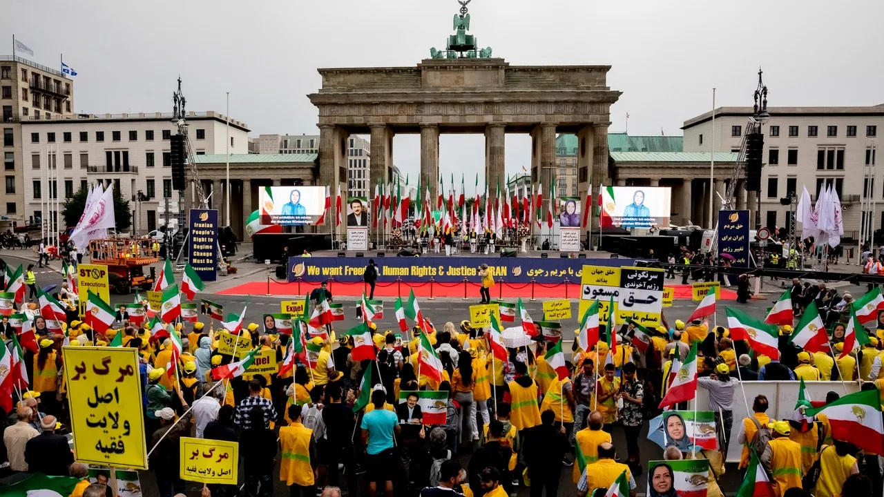 Berlin Protest July 6_Free Iran